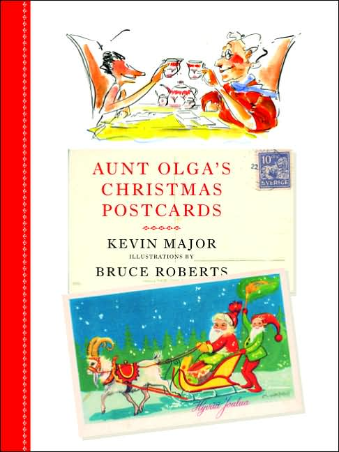 Aunt Olga's Chistmas Postcards