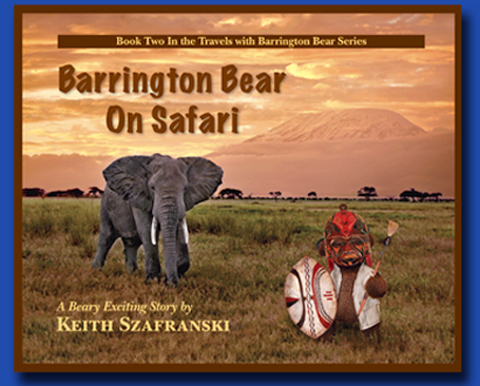 Barrington Bear on Safari
