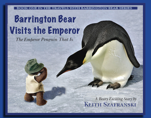 Barrington Bear visits the emperor