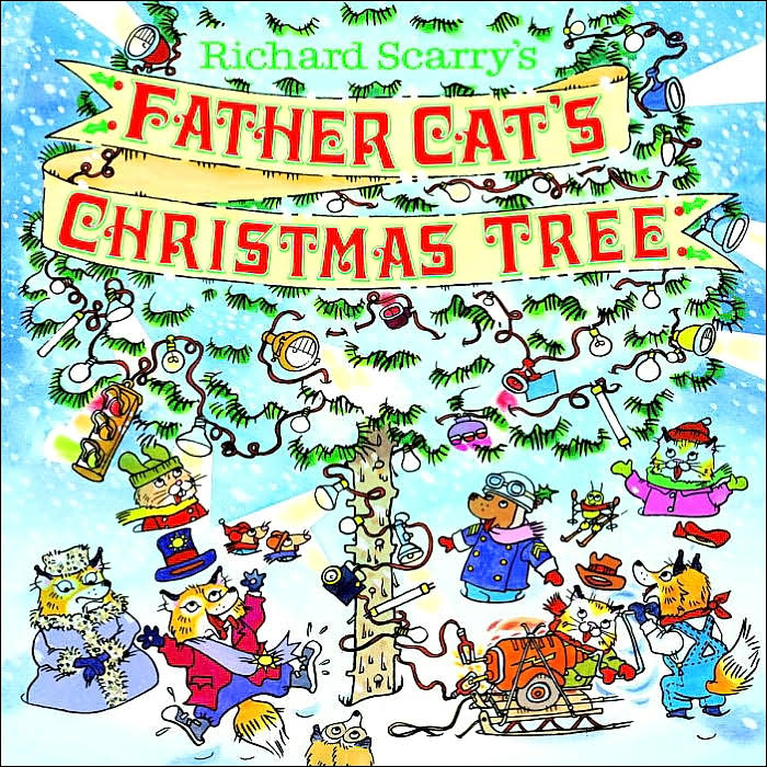 Father Cat's Christmas Tree