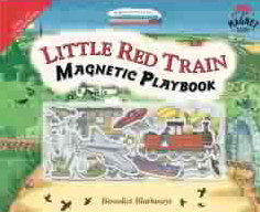 Little Red Train Magnetic Playbook