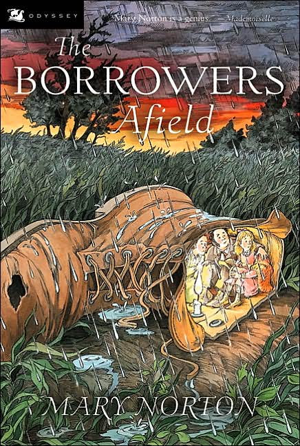 The Borrowers Afield Book