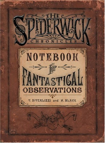The Spiderwick Chronicles Notebook
